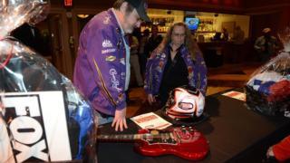 SCC Las Vegas 2014 NASCAR Driver Auction
