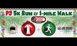 PJ 5K & 1-Mile Walk through Glittering Lights at Las Vegas Motor Speedway