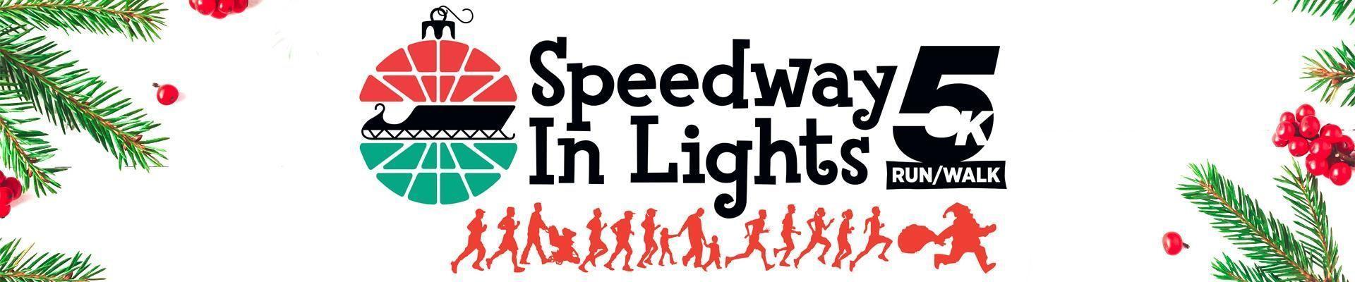 Speedway in Lights 5k Registration Header